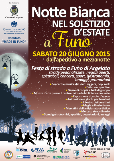 notte bianca 2015 funo