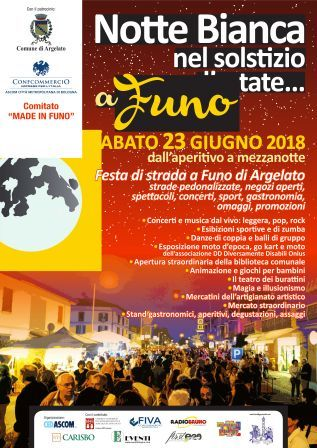 Notte Bianca FUno 2018